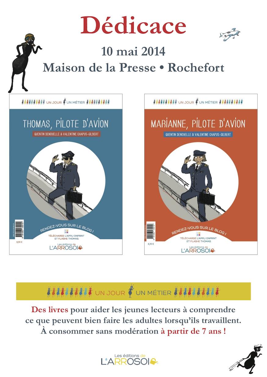 Flyer Dédicace Rochefort
