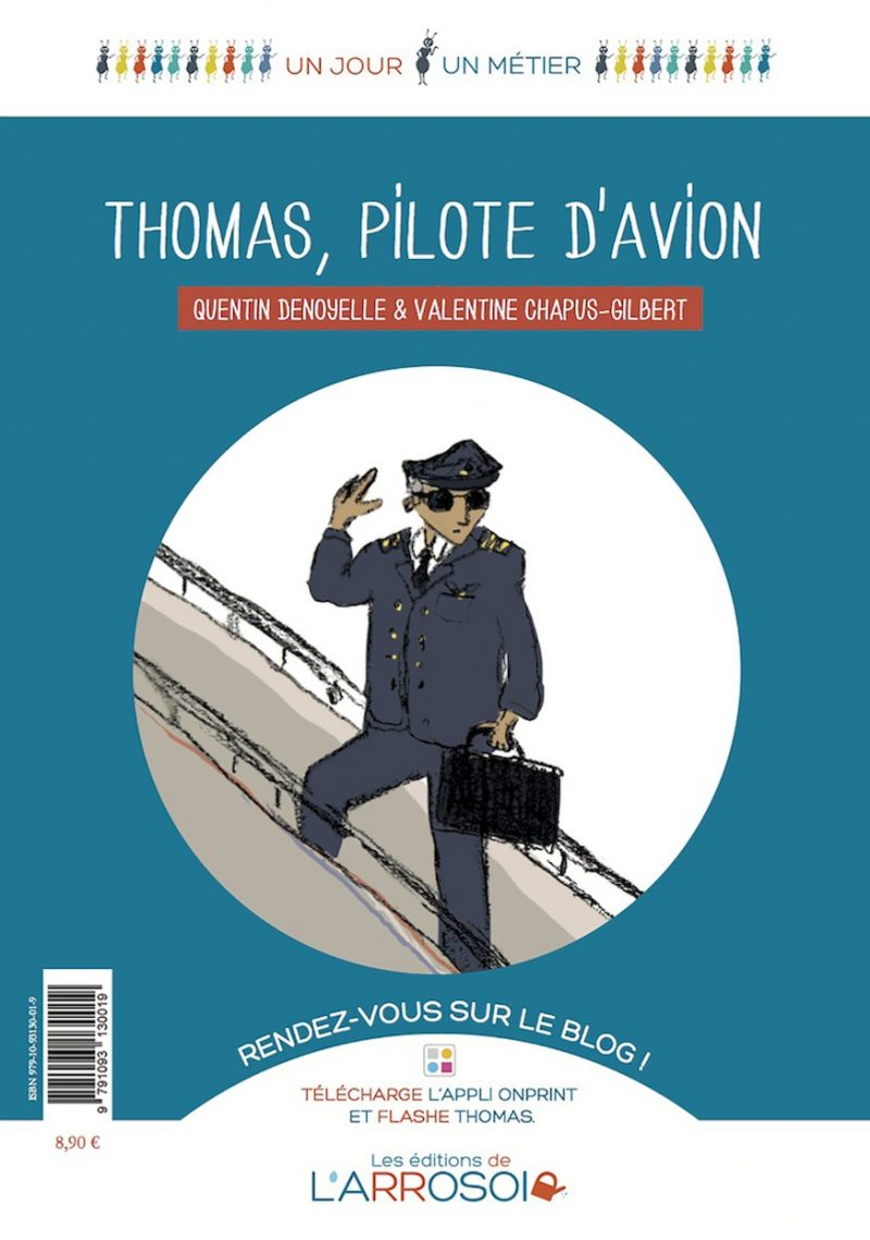 Thomas, pilote d'avion (imprimé)