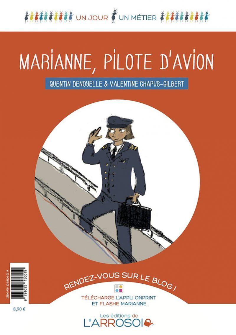 Marianne, pilote d'avion (imprimé)